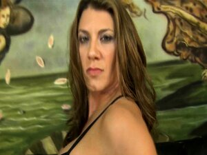 Leena Sky shows up for mean porn