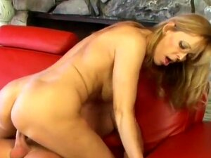 One Hot Mamma Takes On Horny Stud, Nicole Moore is one hot mama  Age has been her friend, not her enemy.  She has the body of a woman in her 20's and her pussy has a few miles on it, but it has been cared for well and is still tight as hell.  She slowly moves her slim body up to this hard cock and gently takes it into her mouth like it was a fine piece of china.  She gently sucks it, licks it and gets its stiff for its eventual journey into her wet canal of love.  She then slides her pussy along his eager shaft before stopping to taste his goodness once more before once again, spreading wide and accepting his entire length.