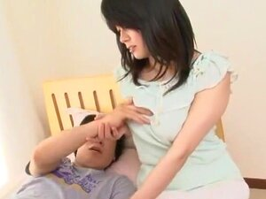 Horny Japanese model Miki Sato in Amazing Fingering JAV scene,
