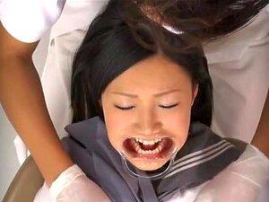 อยากรู้รุ่น AV ญี่ปุ่นเย็ดในคลินิก รุ่น AV ญี่ปุ่นฉ่ำมาที่ s ทันตแพทย์ตรวจฟันของเธอ เธอเปิดปากของเธอ และได้รับฟันของเธอตรวจสอบ แล้วหมอฟันเขาเริ่มนิ้วหีฉ่ำของเธอ และเติมของเธออ้าปากกับเขา schlong หนา ทารกตื่นเต้นได้ป่า และเปิดขาของเธอสำหรับการต่อสู้ที่ไม่ย