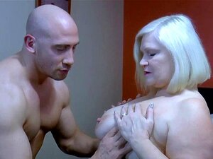 AgedLovE Busty Mature and Handy Guy Cock Sucking. Busty mature blonde seducing handy man and giving him blowjob Find this video on our network Oldnanny