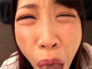 Crazy Japanese slut Miki Sunohara in Incredible blowjob, pov JAV scene
