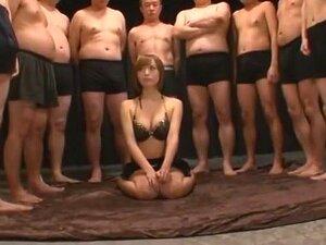 Amazing Japanese girl Yu Namiki in Crazy Gangbang, Blowjob JAV video