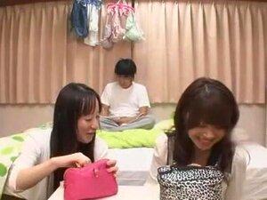 Exotic Japanese girl Anna Takagawa, Yuu Shinoda, Natsume Inagawa in Amazing Small Tits JAV movie