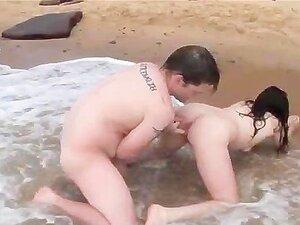 สมัครเล่นแฟนออสซี่จริง แก่ ๆ ชายหาด