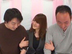 Hottest Japanese girl Momoka Nishina in Amazing Stockings/Pansuto, Threesomes JAV video