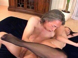 Stockinged ญี่ปุ่นเพศหยาบทวาร 3some