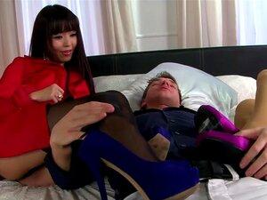 Marica Hase และดำฝรั่งเศษถุงไม่ยอมใครง่าย ๆ เพศสามเส้า