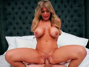 Jessy Jones balls deeping Kayla Kaydens pussy. Jessy Jones is working over time pounding Kayla Kaydens shaved pussy he is balls deeping his big thick cock and Kayla spreads her legs wide open her shaved stretched pussy like it is an open screwing season for Jessy big throbbing cock