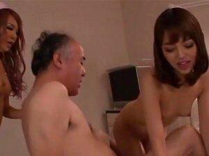 ชาช่า Anku และเมา Miyabi พยาบาลเอเชียซนในร้อนสามทาง พยาบาลเอเชียเหล่านี้ซนชาช่า Anku และเมา Miyabi จะเพลิดเพลินกับผู้ป่วยรายหนึ่ง เขาการร่างกายของเขาเลีย และดูดไก่ของเขาในการด้งก่อนที่พวกเขาผลัดกันเย็ดเพื่อนนี้ เขาได้รับให้ใคร และปอนด์เหล่า pussies โกนในส