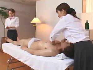 ญี่ปุ่น 09 - หมอนวดหญิงกับผู้ชาย (จับ)