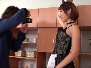 อายหนุ่มน้ำพุ่งแม่บ้านญี่ปุ่น Seira Matsuoka เป็นกับเราวันนี้แต่งเช่นแม่บ้านเซ็กซี่ เธอได้รับลง และพร้อมให้ความสุขตัวเองก่อนได้รับระยำอย่างถูกต้อง