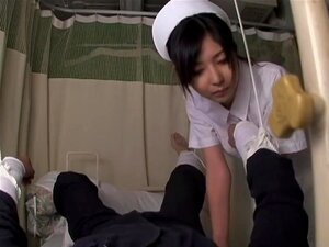 Fun at the clinic with asian nurse who has sex with patients, A friend of mine who is a doctor sent me this japanese porn video with a hot nurse who likes to take care of her patient's rods. In this spy movie she has sex with Ko and her horny pussy gets all wet.