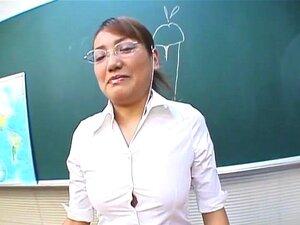 Classic JAV CFNM teacher handjob blowjob demonstration