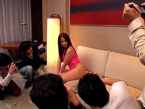 Incredible Japanese chick Ren Mukai in Horny group sex, JAV movie