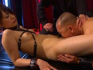 Hottest Japanese chick in Crazy Cunnilingus, BDSM JAV clip