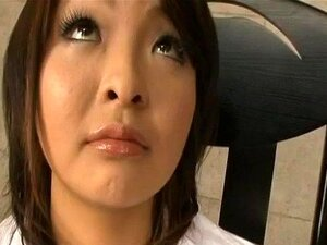 Reina Mizuki gets cum in mouth from rubbed and sucked woodies