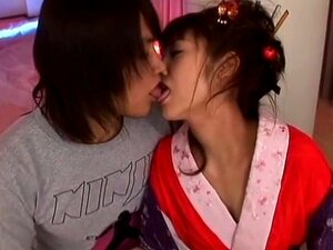 Exotic Japanese model Yuna Mizumoto, Hitomi Kitagawa, Tsubomi in Hottest Facial JAV scene