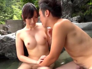 Fabulous Japanese chick Mana Makihara in Crazy outdoor, big tits JAV scene,