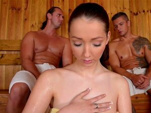 FuckinHD - Lucie Wilde hot Fuck with 2 guys in the Sauna. Lucie Wilde shows up at the DDF Sauna to brighten the day for Tomas aka Tarzan and Sabby